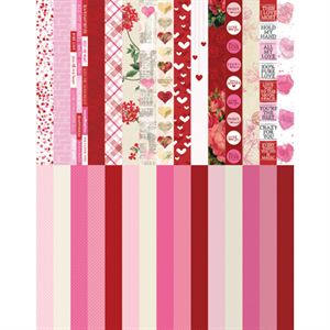 Picture of Pocket Love Border Strips by Katie Pertiet - Set 30