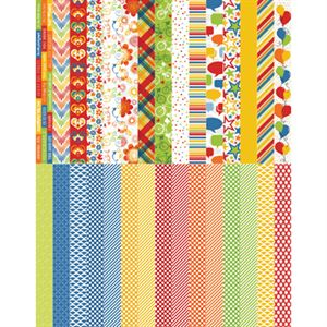 Picture of Pocket Primary Border Strips by Katie Pertiet - Set 30